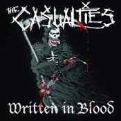 CD THE CASUALTIES-Written In Blood