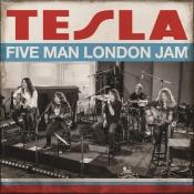 CD TESLA-  FIVE MAN LONDON JAM