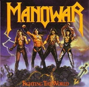 CD MANOWAR-FIGHTING THE WORLD