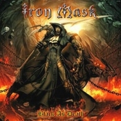 2LP IRON MASK - BLACK AS DEATH
