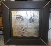 Ručne maľovaný obraz na stenu Cobain