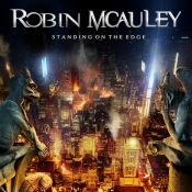 LP  MCAULEY, ROBIN - STANDING ON THE EDGE