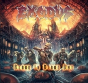 2LP  EXODUS-BLOOD IN, BLOOD OUT