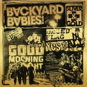 CDdigi Backyard Babies-Sliver and gold