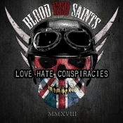 CD Blood Red Saints-Love Hate Conspiracies