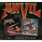 2CD ANVIL - Plugged In Permanent/Absolutely No Alternative