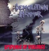 CD  DEMOLITION HAMMER-Epidemic of Violence