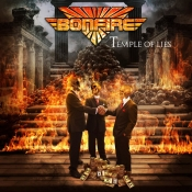 CD Bonfire -Temple Of Lies