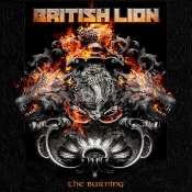 CD BRITISH LION-THE BURNING