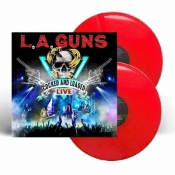 2LP  L.A. GUNS - COCKED AND LOADED LIVE