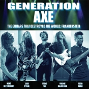 CD GENERATION AXE - THE GUITARS THAT DESTROYED THE WORLD