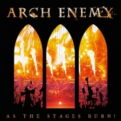 CDDVD ARCH ENEMY- As the stages burn!