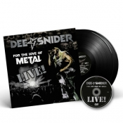 LPDVD  DEE SNIDER-For The Love Of Metal Live
