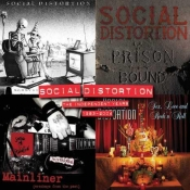 4LP SOCIAL DISTORTION- Independent Years: 1983-2004 Ltd.