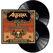 2LP  ANTHRAX-The Greater Of Two Evils