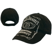 čiapka  Jack Daniels - Black W/ Logo Adjustable Cap