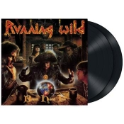 2LP  RUNNING WILD-BLACK HAND IN
