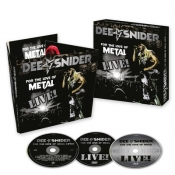 CDDVDBRD DEE SNIDER-For The Love Of Metal Live