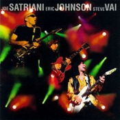 DVD SATRIANI JOE ERIC JOHNSON, G3 - LIVE IN CONCERT