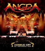 DVD ANGRA ANGELS CRY 20TH ANNIVERSARY LIVE
