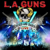 CD  L.A. GUNS - COCKED AND LOADED LIVE