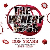 BRDCD The WINERY DOGS-DOG YEARS LIVE IN SANTIAGO & BEYOND 2013-2