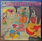 2LP  The Band 	- Music From Big Pink