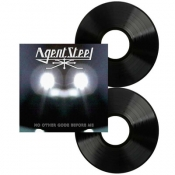 LP  AGENT STEEL - NO OTHER GODZ BEFORE ME
